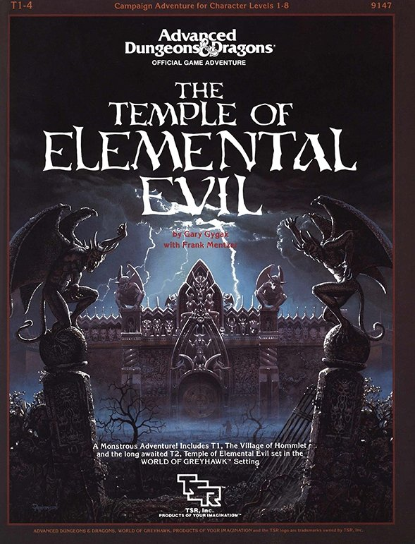 Temple of Eelemental Evil