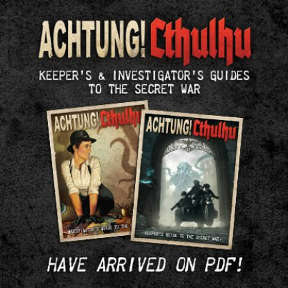 Achtung! Cthulhu Guides