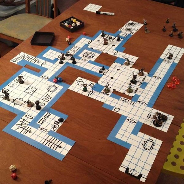 Blue Dungeon Tiles