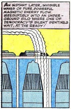 "Atombomba: ""democracy's silent sentinel since August 1945."""