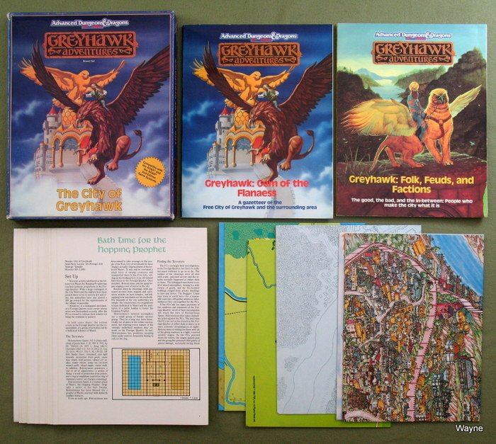 City of Greyhawk Box Set
