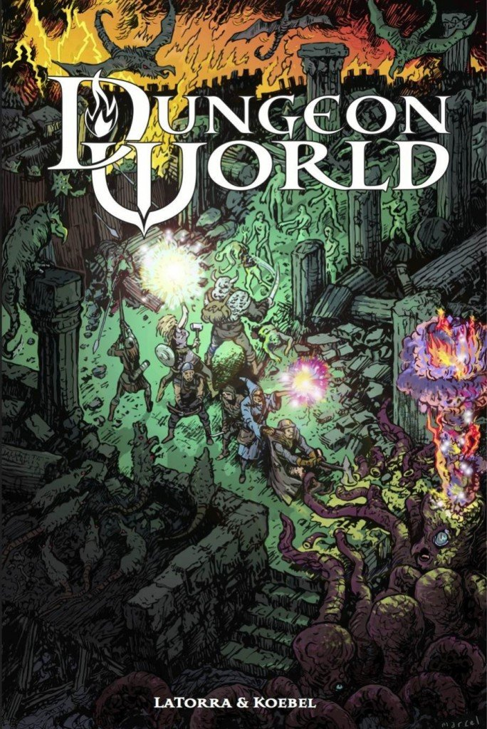 Dungeon World borító