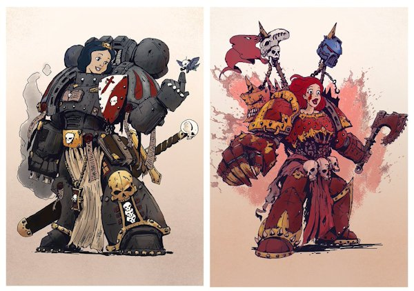 Disney Space Marines