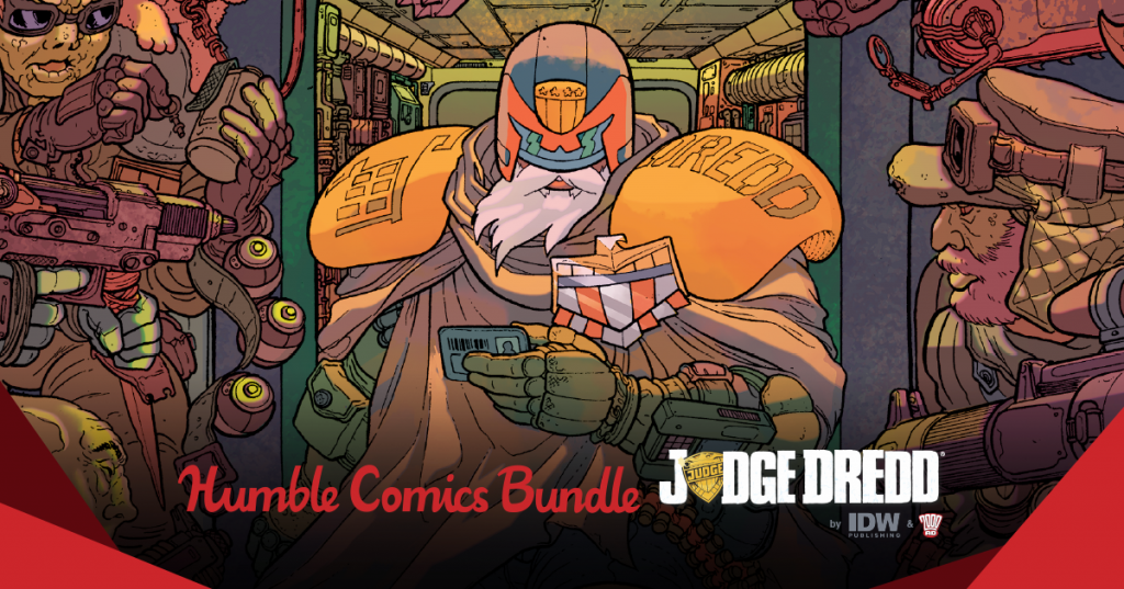 Humble Comics Bundle: Judge Dredd