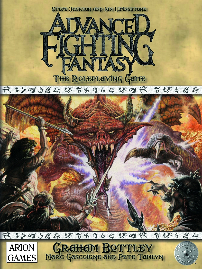 Aadvanced Fighting Fantasy borító